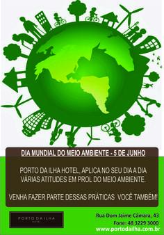 Faça sua parte por um mundo melhor! www.portodailha.com.br