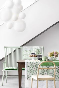 Oriental inspired tablecloth! #HMHOME