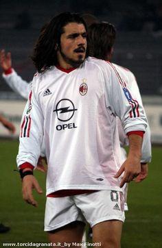 Gennaro Gattuso, AC Milan (1999–2012, 335 apps, 9 goals) - ringhioooo !