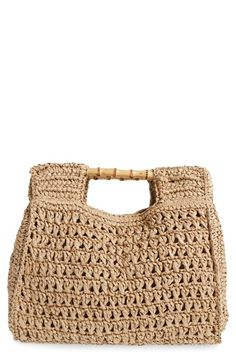 San Diego Hat Woven Straw Tote available at #Nordstrom