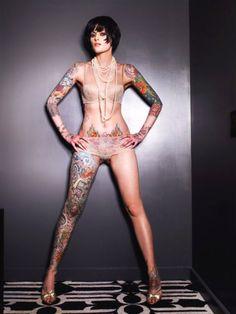 Tattoo Artist Julie Becker