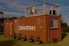 Shipping Container Homes: Jamie Durie, Top Design - Sydney, Australia, - 5 x 20 FT Container Studio Homes http://homeinabox.blogspot.com.au/2012/12/jamie-durie-top-design-sydney-australia.html