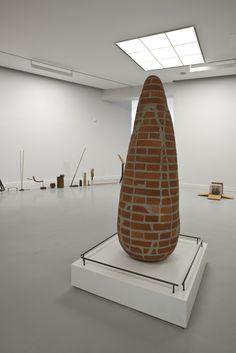 A contemporary menhir? Maarten Vanden Eynde  2010 Sculpture