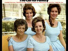 Mother Maybelle, June, Helen, and Anita Carter.- I Walk The Line -