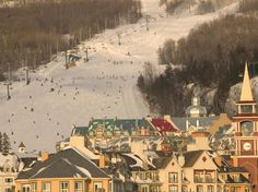 """Terrain: 79.9 Lifts: 79.6 Nightlife: 82.4 Ambience: 89.3 Restaurants: 78.9 Lodging: 91.5 Known for its """"great long trails that are super wide,"""" Mont Tremblant delivers """"trails that are not crowded,"""" making you feel as if """"you are off on your own."""" One reader said she felt like she was skiing in Europe. The mountain is """"good for families and beginner to intermediate skiers and snowboarders."""""""