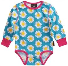 Maxomorra Daisy Bodysuit - coming soon to Uni and Jack ... its started the journey from Sweden to Wales