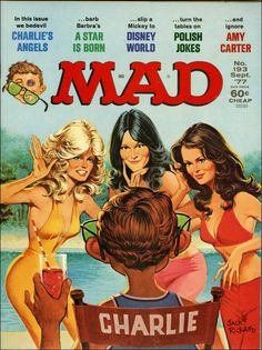 Jack Rickard art - Charlies Angels