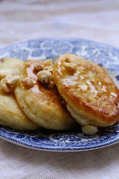 Oladi , crêpes russes très moelleuses | On dine chez Nanou