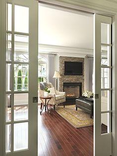 Andersen Interior Sliding French Pocket Door
