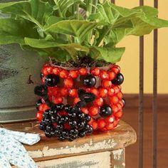Sunrise Craft & Hobby™ Ladybug Planter Bubble Beads™ Beading Kit