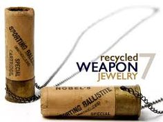 Recycled WEAPON Jewelry...