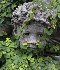 Statuary in Recoleta Cemetery, Buenos Aires, Argentina