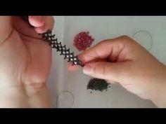 Kristalli Zig Zag Bileklik Yapımı-Yadigar Takı-Tasarım-Hobi - YouTube
