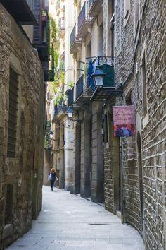 Ribera Quarter. Barcelona (Catalunya -  Catalonia)