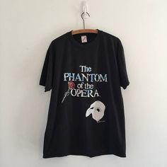 Vintage 80's Phantom of the Opera Broadway T-Shirt L