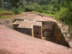 Church carved out of rock, Ethiopia. Experience Africa with Nomad Adventure Tours Adventure Tours, Ethiopia, San Diego, National Parks, Places To Visit, Wildlife, Africa, Journey, Cabin