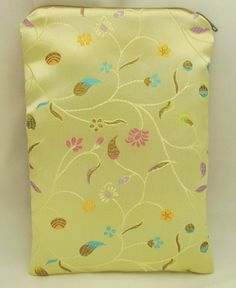 Brocade Tarot Bag Gold Floral Vine with Teal Blue by AGypsyRed, $6.00