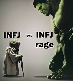 Descriptions of the INFJ personality type often emphasize our peaceful natures, and point out that we have a hard time dealing with conflict.