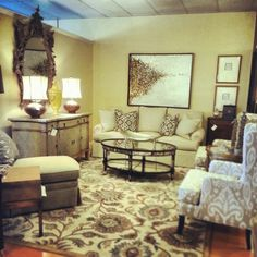 Store Vignettes From Louisiana Furniture Gallery On Pinterest Cocktail Tables Custom Sofa And