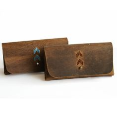 Leather glasses case Sunglasses case by DoubleBackStudio on Etsy