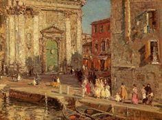 Emma Ciardi (1879-1933) Italian Impressionist Painter