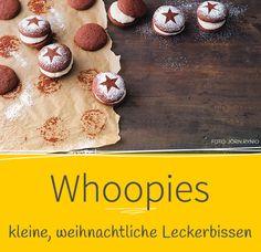 In der Weihnachtsbäckerei ... ist unser Whoopie-Rezept ab sofort ein Muss: unsere Christmas-Whoopies. Warum kann nicht immer Weihnachten sein?