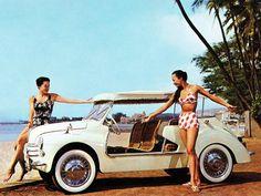 Renault 4CV Jolly 1961 | Auto Forever Maserati Ghibli, Beach Cars, Beach Fun, Citroen Ds, Retro Cars, Vintage Cars, Bugatti, Renault Rodeo, Jaguar Type E