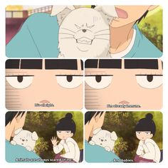 Poor Sawako ): - Kimi ni todoke. I have to admit this made me laugh real hard.