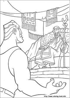 Atlantis coloring picture