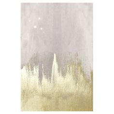 Oliver Gal Off-white Starry Night Canvas Wall Art | Hayneedle