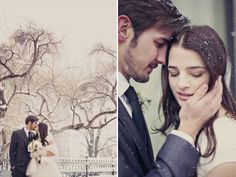 Perfect Blue And White Winter Wedding Inspirations -InvitesWeddings.com