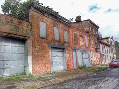 Rescue Me: 13-15 S. Johnston... Abandoned carriage house, abandoned storefront, abandoned garage