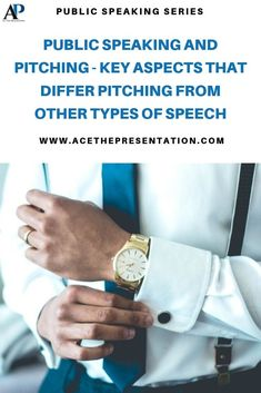There are multiple types of public speaking, and pitching is a special type amongst them, as it is not to merely inform, entertain or persuade. It goes beyond that, it's a mix of all of those plus factual data to support all claims. Check out our latest post where we tell the differences between the common types of public speaking and pitching speeches.  #pitching #publicspeakingtypes #pitchingpresentation