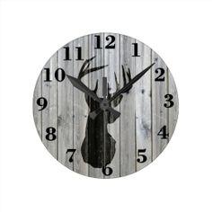 Round Clock Stencils