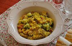 Cous-cous con verduritas y curry