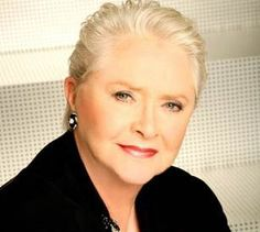 Susan Flannery - Stephanie Douglas Forrester matriarch on Bold and the Beautiful. Also Laura Horton on Days of Our Lives many years ago.