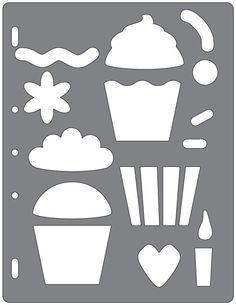 Fiskars Shape Template: Cupcakes & More