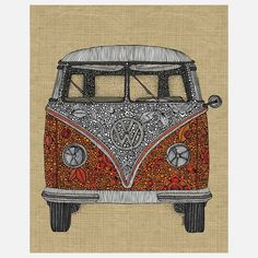 The Camper Print 11x14 design inspiration on Fab.