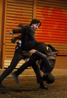 John Wick 2 Keanu Reeves Set Photo 10