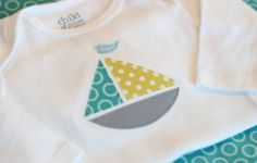 sailboat onesie, 0-3 months, long sleeve, Riley Blake lovebirds & indian summer