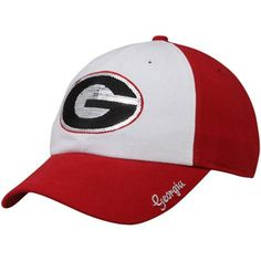 4ebf703bdfb  47 Brand Georgia Bulldogs Ladies Sparkle Adjustable Hat - Red Uga  Athletics