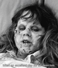 Fan Art of exorcist for fans of Horror Movies 35973331 Exorcist Movie, The Exorcist 1973, Linda Blair, Scary Movies, Good Movies, Very Scary, Arte Horror, Vintage Horror, Horror Films