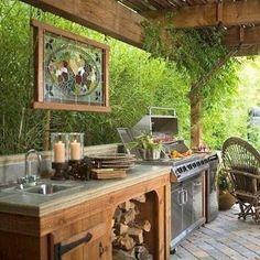 Resultado de imagen para outdoor kitchen