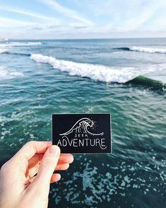 Ocean Wave Vinyl Sticker Laptop Sticker Surfing Sticker Kayaking Car Decal Surfer Bumper Sticker Snorkeling MacBook Decals - Macbook Laptop - Ideas of Macbook Laptop - Laptop Stickers, Bumper Stickers, Cute Stickers, Macbook Decal, Macbook Laptop, Design Graphique, Branding, Ocean Waves, Surabaya