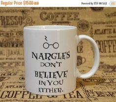 20% OFF SALE Nargles Don't Believe in You by StitchesintheLibrary