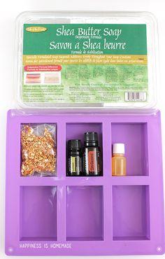 10 Minute Gift Idea: DIY Natural Citrus Antibacterial Soap - Happiness is Homemade