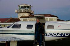 Landing at Santa Maria, Azores from St. John's, Canada (1380NM)