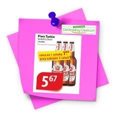 - Najtańsze  Produkty -: Tyskie 1,89 zł za butelkę