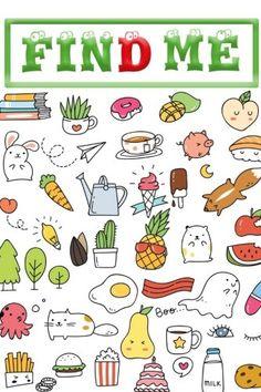 Set of various cute icons in doodle style Mini Drawings, Kawaii Drawings, Easy Drawings, Tumblr Stickers, Cute Stickers, Free Printable Stickers, Journal Stickers, Planner Stickers, Doodle Art