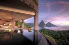 St. Lucia's Jade Mountain Resort